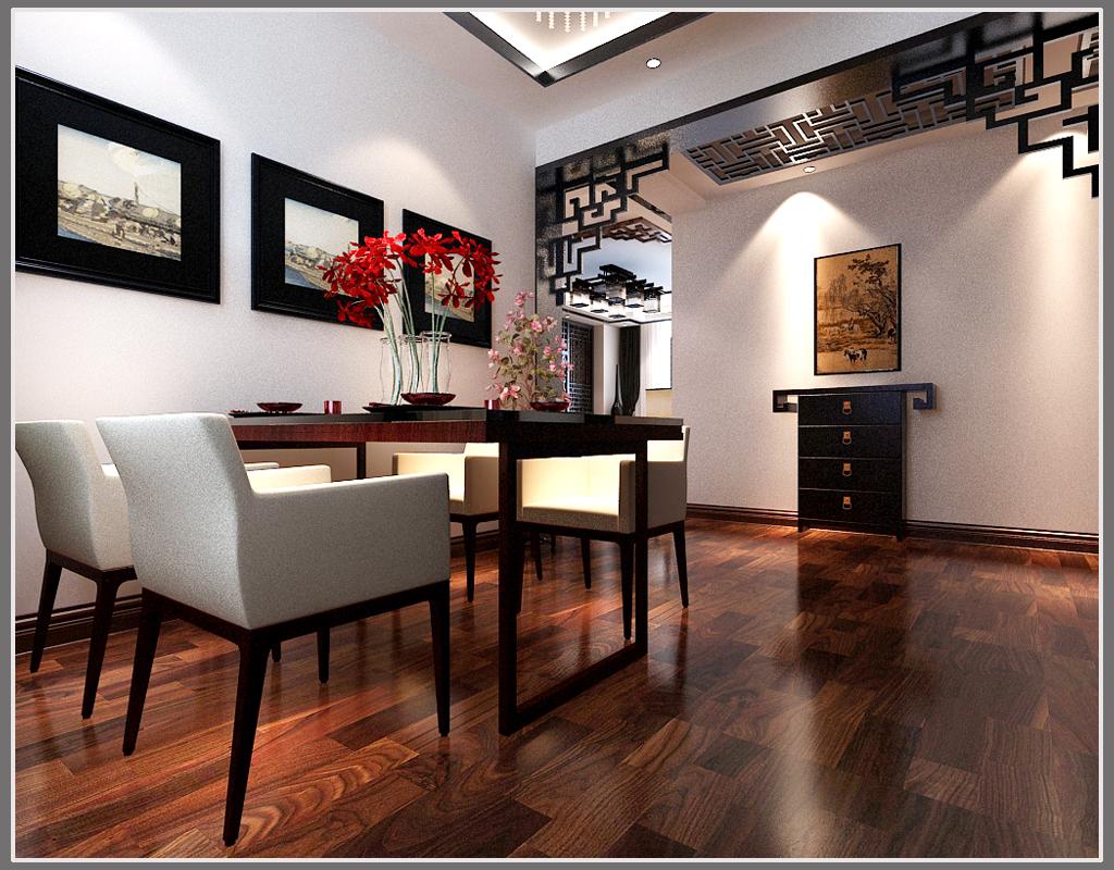 中式 三居 餐厅图片来自链连妞妞在天鹅湾的分享