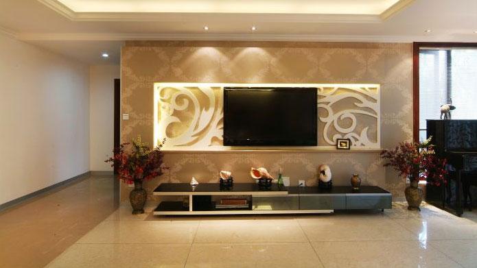 简约 现代 二居 白领 收纳 客厅图片来自北京高度国际---小吴在K2百合湾120㎡现代简约公寓的分享