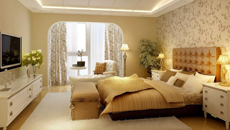 简约 田园 三居 收纳 小资 卧室图片来自北京高度国际---小吴在BOBO自由城120㎡田园公寓的分享