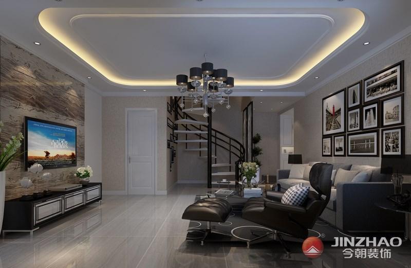 后现代 客厅图片来自阿布的小茅屋15034052435在A+5米4--后现代160平米的分享