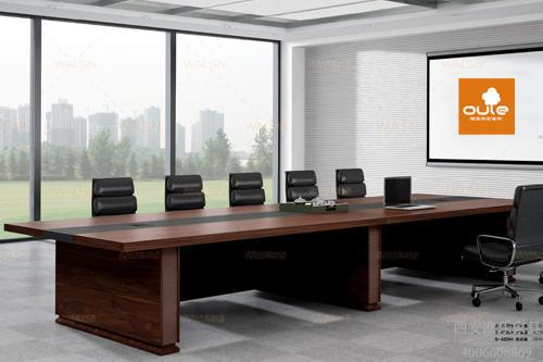 会议桌选购来西安三森欧梵家具店