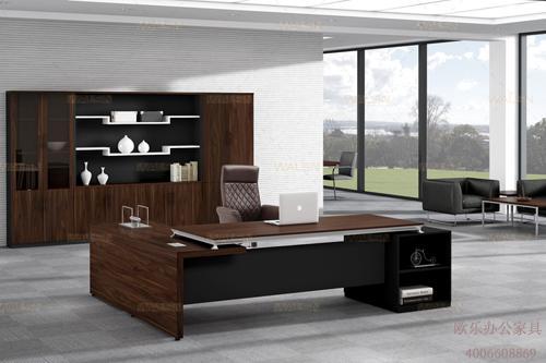 办公班台,老板桌选购西安欧乐办公家具