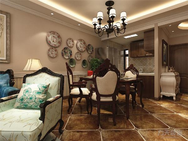 本案为合景御华园三室两厅一厨一卫98㎡的户型。这次的设计风格定义为田园风格。