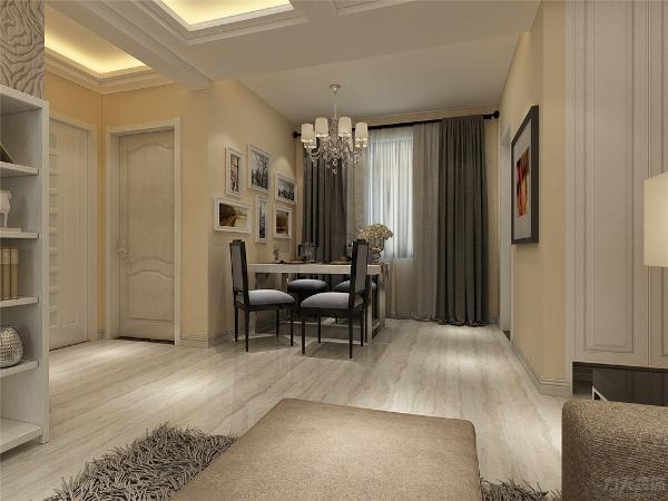 本案为双发金玺城两室两厅一厨一卫90㎡,本案风格定义为现代简约风格。