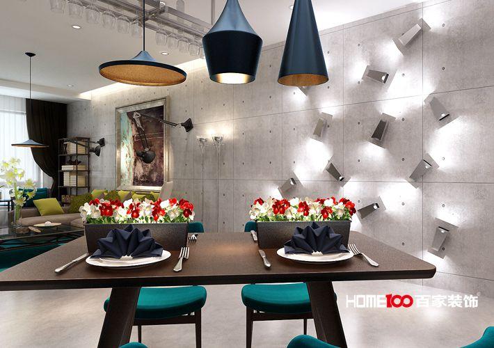 餐厅图片来自百家装饰-小敬在中海城瑞士郡北欧风格的分享