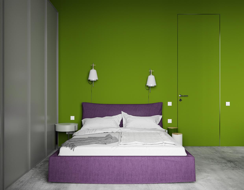 北欧 卧室图片来自玉玲珑装饰在雅致公寓的分享