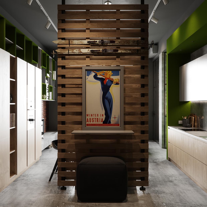 北欧 玄关图片来自玉玲珑装饰在雅致公寓的分享