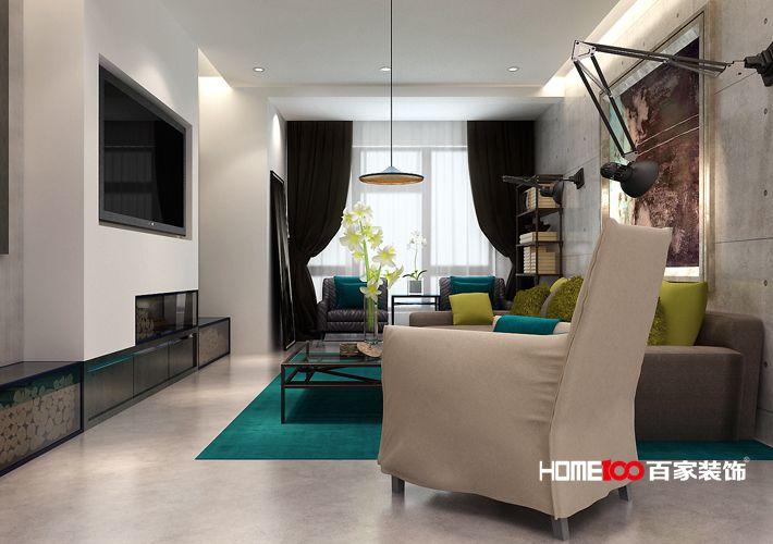 客厅图片来自百家装饰-小敬在中海城瑞士郡北欧风格的分享
