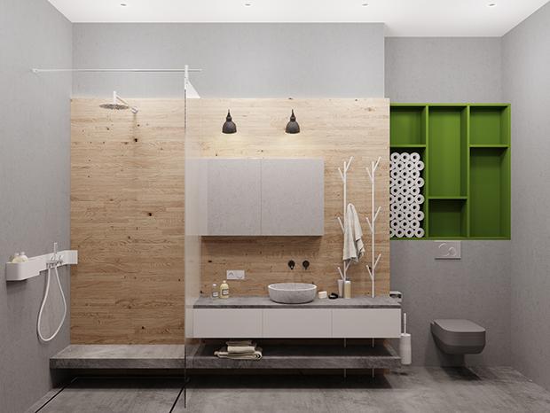 北欧 卫生间图片来自玉玲珑装饰在雅致公寓的分享
