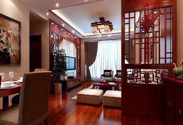 新中式风格的乐府江南106平米