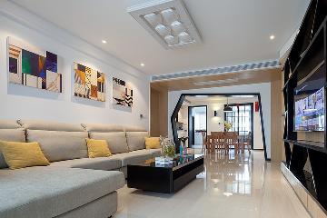 现代风三居室·几何打造精致家居