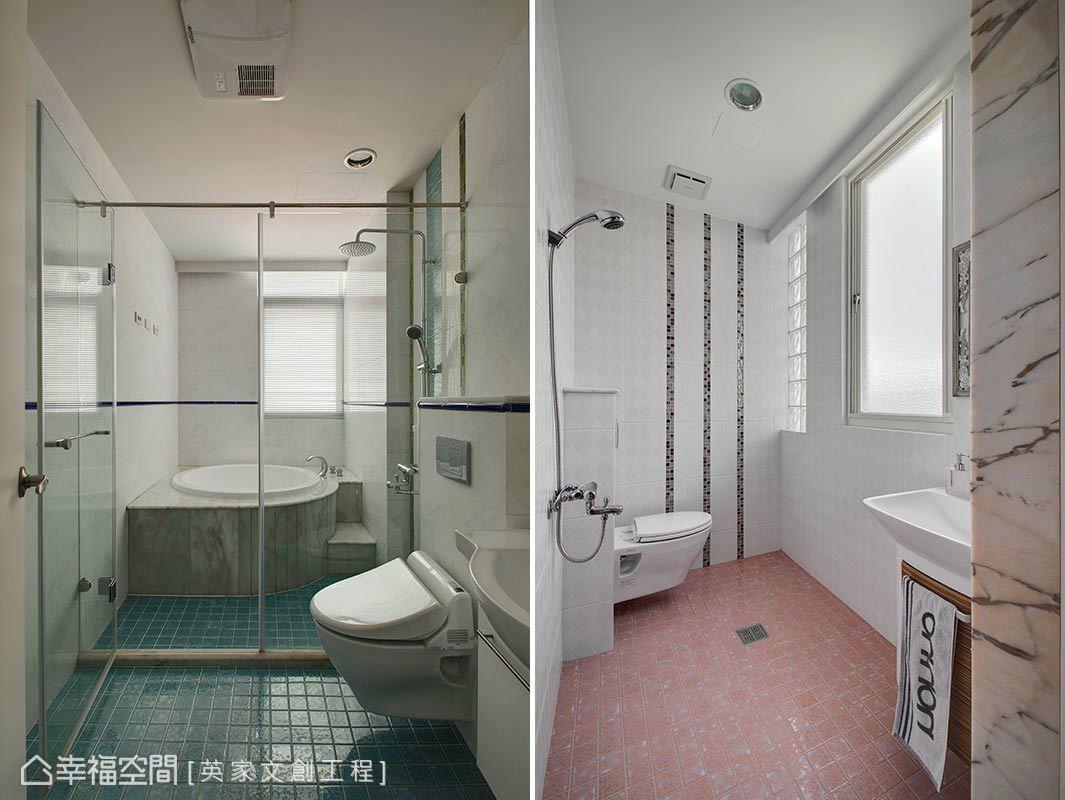 三居 新古典 简约 收纳 卫生间图片来自幸福空间在119平缔造新时代品味美宅的分享
