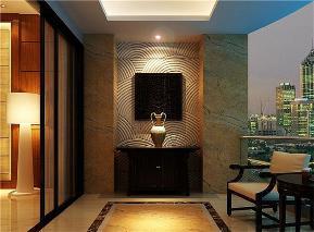 三居 新古典 白领 玄关图片来自日升装饰公司在150平三居新古典风的分享