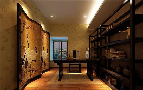 三居 新古典 白领 书房图片来自日升装饰公司在150平三居新古典风的分享