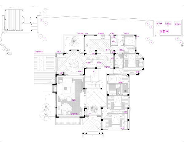 一楼平面规划图