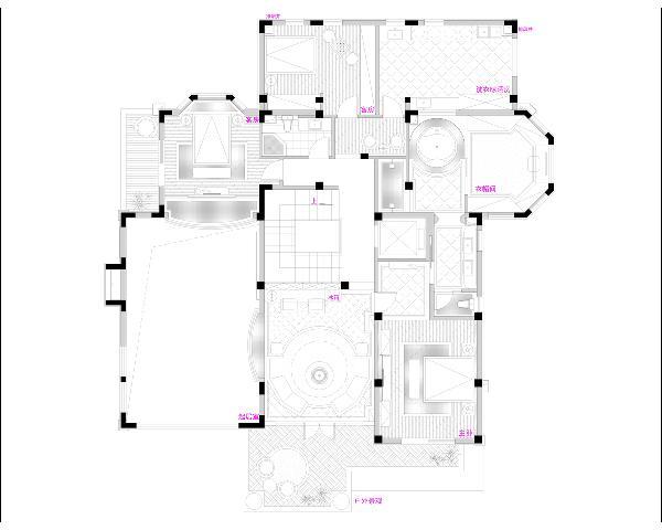 二楼平面规划图