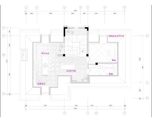 阁楼平面规划图