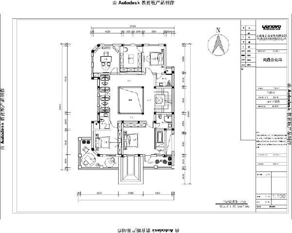 二楼平米方案图