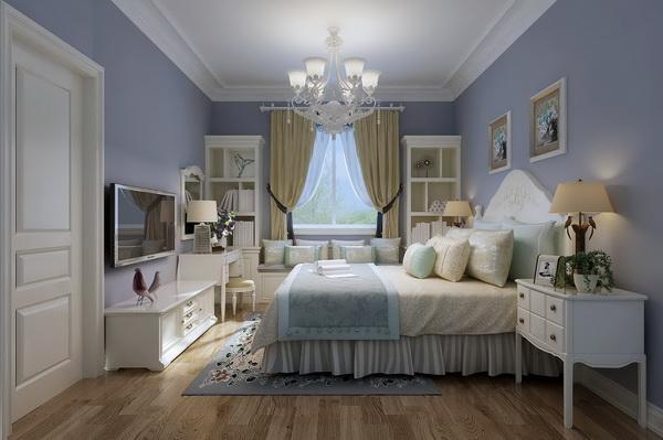 业主背景:本套住房常住人口3人,设计方案以简欧为主题,合理运用色彩搭配整个居室,此方案采用了一些镜面的设计,让整个居室也显示了时尚的一面。