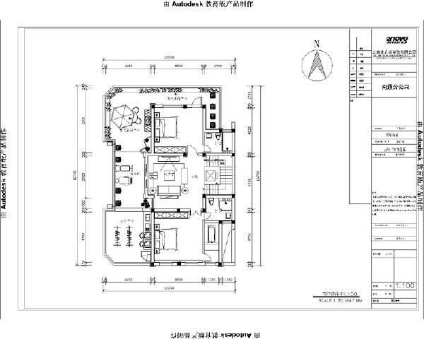 三楼平米方案图