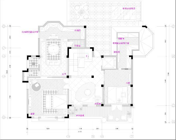 三楼平面规划图