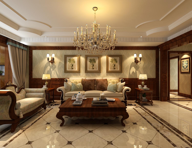 美式 奥北公元 整体家装 环保家装 客厅图片来自瀚沃装饰-袁在奥北公元170㎡美式装修案例的分享