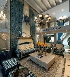 润泽庄园260平米地中海风格设计