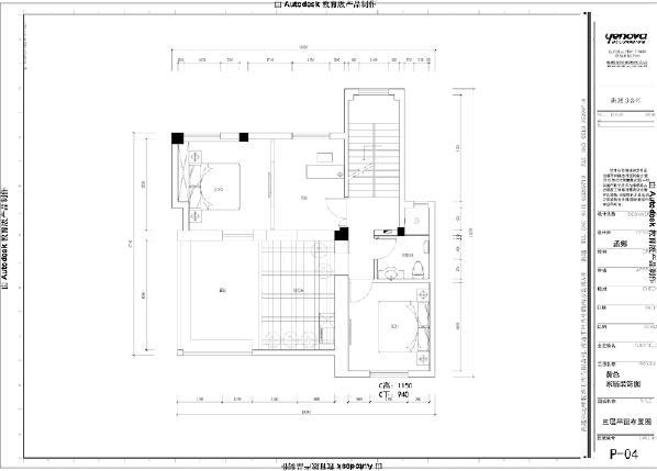 三楼平面方案