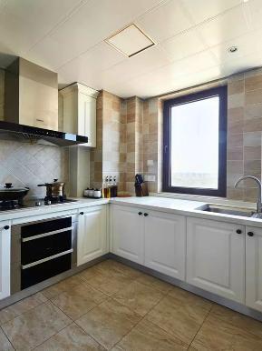 地中海 二居 白领 收纳 旧房改造 小资 厨房图片来自沙漠雪雨在82平米浪漫地中海小二居的分享