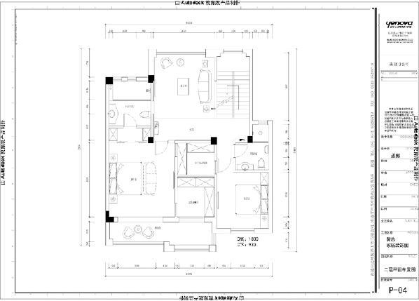 二楼平面方案
