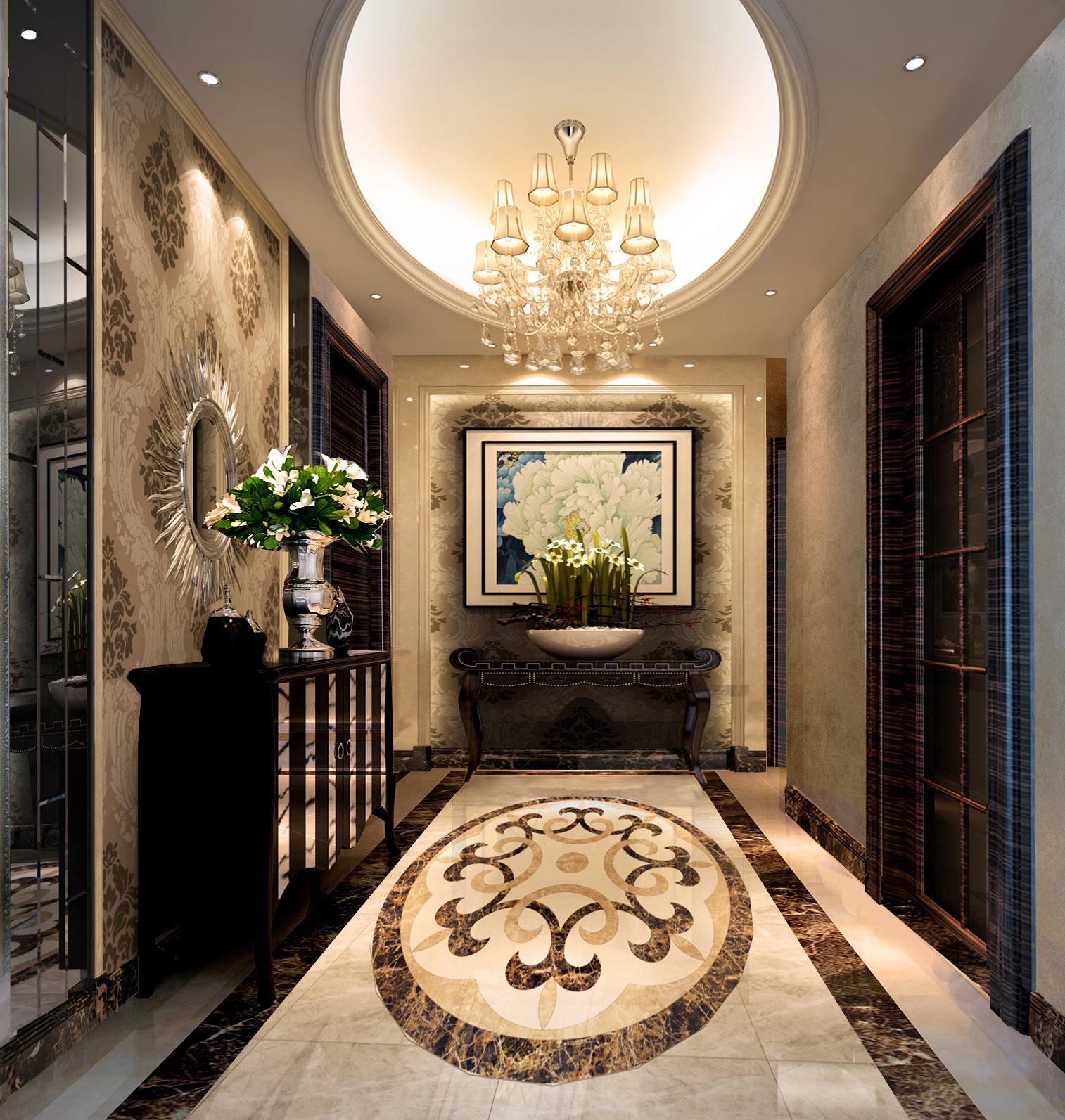 欧式 三居 客厅 卧室 厨房图片来自装饰装修-18818806853在锦绣半岛三口之家欧式经典的分享