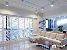 欧式 宜家 收纳 客厅图片来自米兰大宅设计会所在利落简约宜家的分享