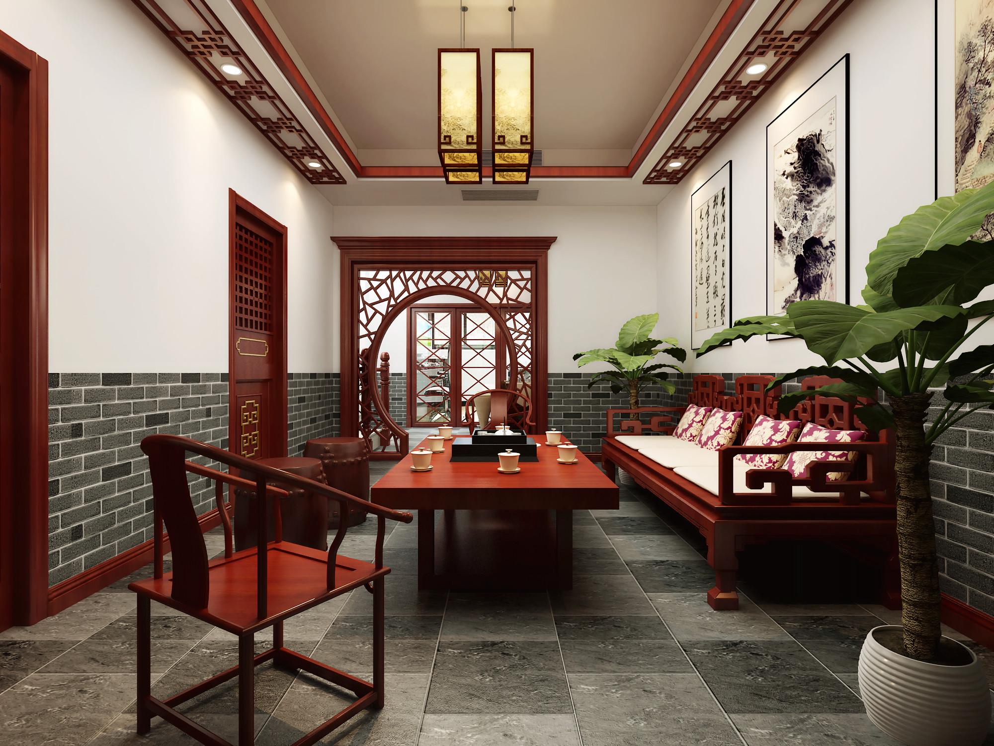 别墅 旧房改造 小资 收纳 白领 混搭 简约 田园 三居 其他图片来自北京居然元洲装饰在牛驼孔雀城230平简欧混搭风格的分享