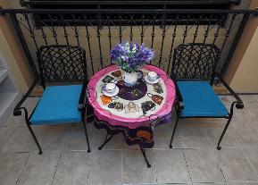 二居 白领 小资 地中海 汉口城市 阳台图片来自武汉苹果装饰在猫舍—小户型地中海的分享