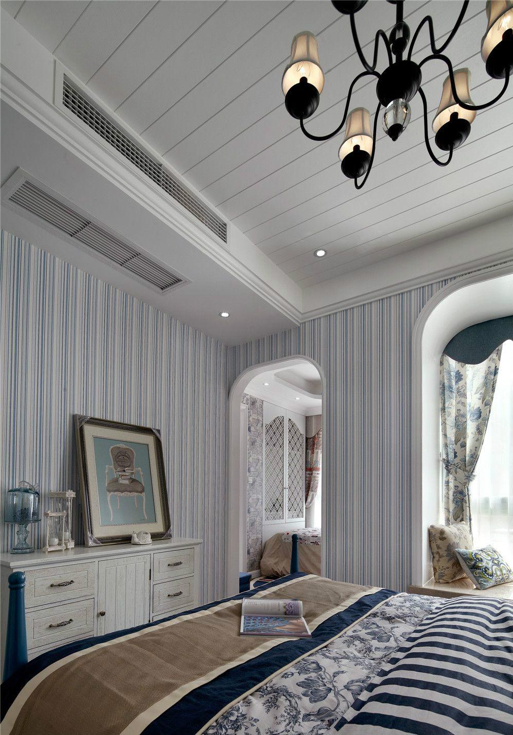 地中海 卧室图片来自上海倾雅装饰有限公司在奥园地中海风格的分享