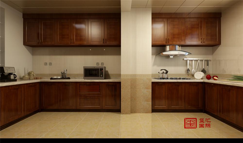 中式 三居 新房 厨房图片来自河北玺汇国际装饰公司在北郡160平三居室中式风格设计的分享