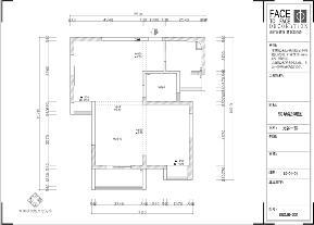 地中海 两室一厅 小清新 雄楚1号 户型图图片来自武汉一号家居网装修在雄楚1号91平地中海清新两室一厅的分享