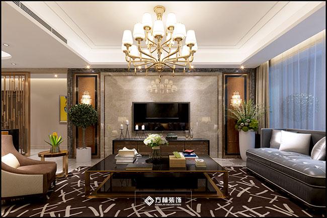 港式 别墅 奢华 低调 混搭 客厅图片来自方林装饰在港式奢华风新民蓝湾一品装修图的分享