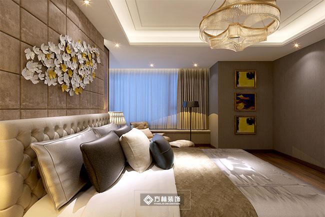港式 别墅 奢华 低调 混搭 卧室图片来自方林装饰在港式奢华风新民蓝湾一品装修图的分享