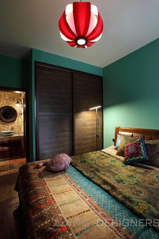 成都家装 成都设计 之境设计 廖志强 张静 最牛住宅 卧室图片来自廖志强在憩息的分享