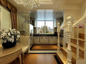 简约 复式 橡树湾 嘉年华装饰 240平 地中海 楼梯图片来自武汉嘉年华装饰在略带异域风情的浪漫之家的分享