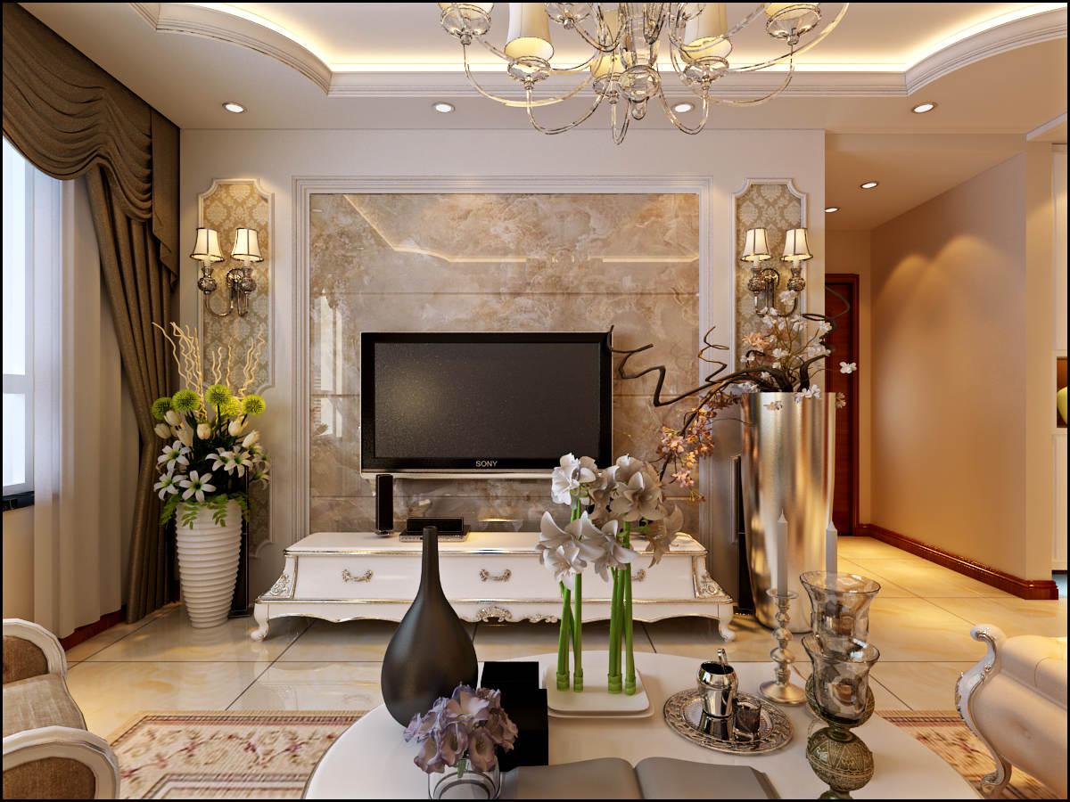 简欧 清徐 帝景公馆 客厅图片来自昆明九创装饰温舒德在清徐 帝景公馆 117平米的分享