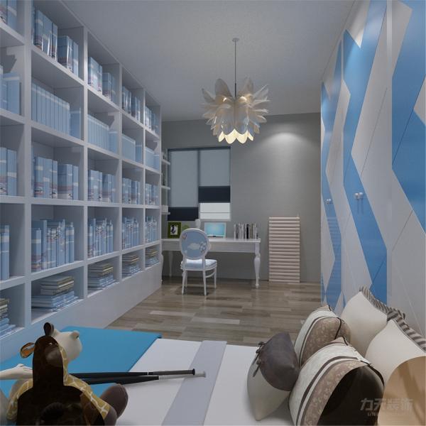 本案为府上和平,本例户型为两室两厅一厨一卫的户型,使用面积为100.95㎡,环境优美,为一三口之家为依据进行设计的,突出温馨且不是时尚质感。
