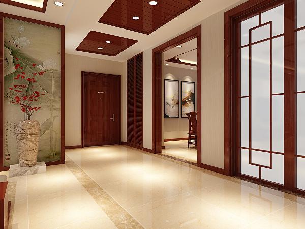 门厅:门厅为进门大厅,一般在进门的地方作为缓冲区、起过渡作用。现在住宅设计一般都采用大门厅、小卧室的格局,从家庭活动的需要看,这种格局是比较合理的。最终门厅布置应当根据实用功能来定;