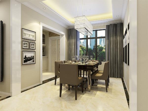 本户型为津南新城四室两厅一厨两卫140平米的户型,本案风格定义为现代简约风格。