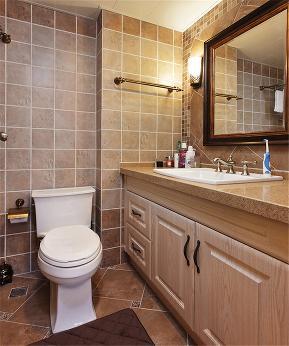 三居 简约 新古典 白领 卫生间图片来自日升装饰公司在158平四居新古典风的分享