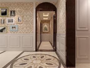 三居 简约 新古典 白领 玄关图片来自日升装饰公司在158平四居新古典风的分享