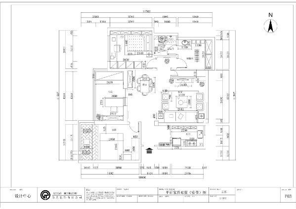 从入户门入,正对着的是餐厅的位置,入户左边是一个较大的空间,可作为主卧的设计,主卧的前面是一个狭长的空间,可作为书房位置的设计。与书房相邻的是一个较大的空间可作为次卧的设计。