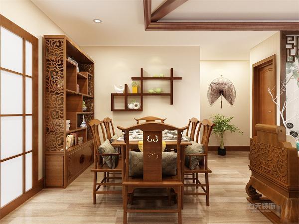 本案为万科假日,四室两厅一厨一卫的户型平方米。本案风格定义为中式风格。