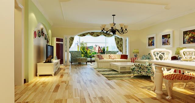 二居 欧式 田园 客厅图片来自北京居然元洲装饰在欧式与田园的完美结合的分享